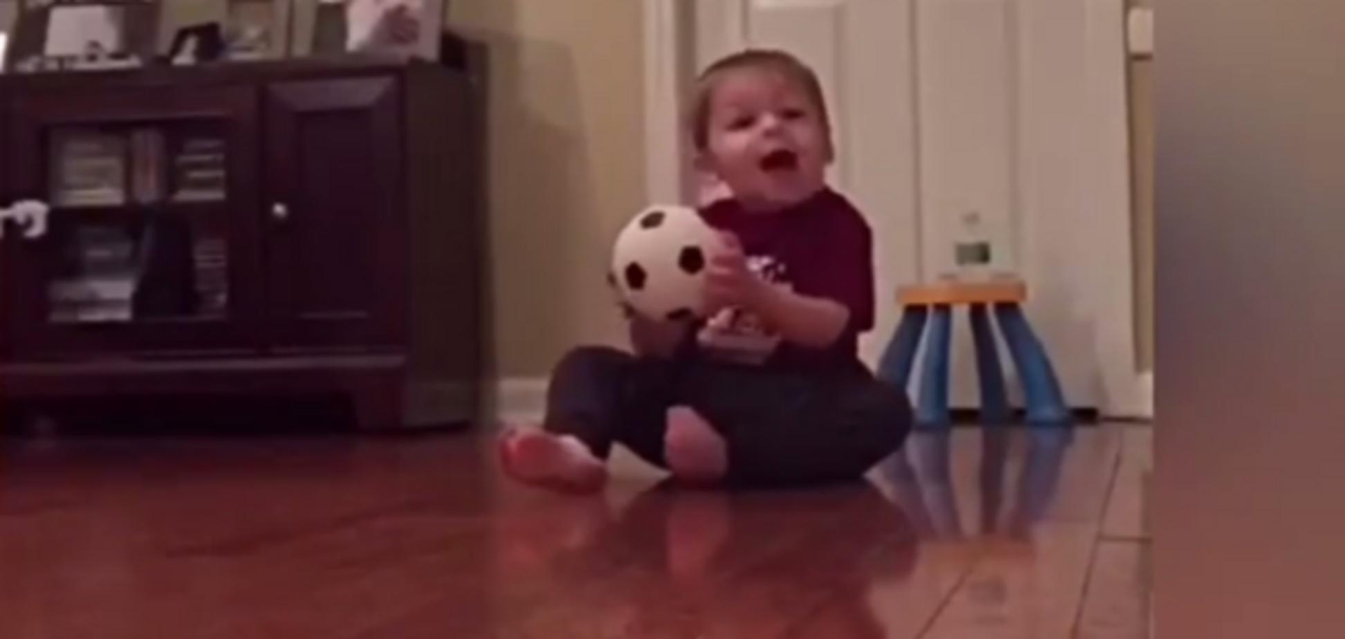 Будущий Роналду: трюк двухлетнего футболиста покорил сеть