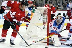 Канада Росія хокей