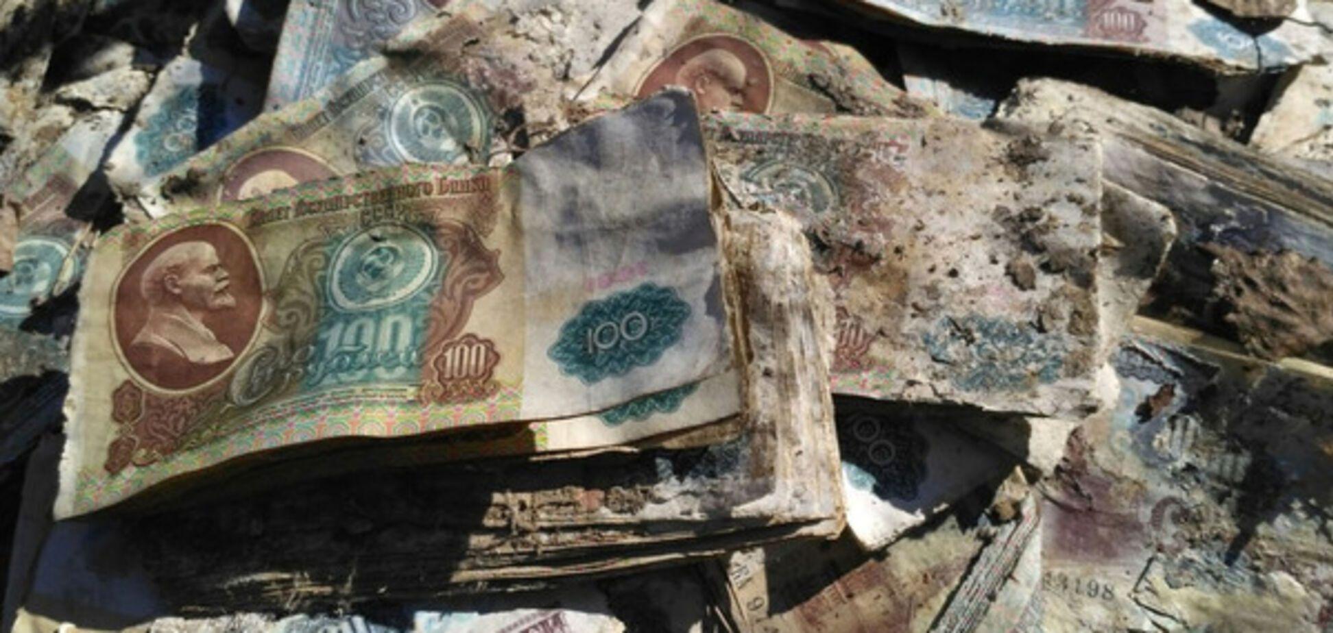 Грузовики банкнот: в заброшенной ракетной шахте Подмосковья нашли тайник СССР