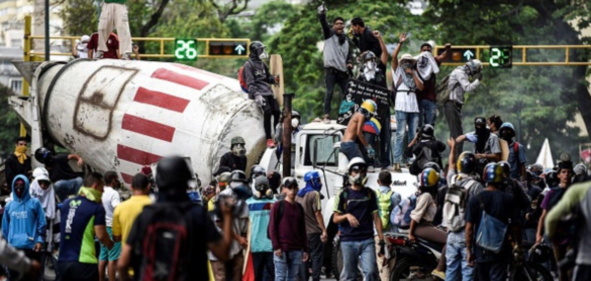 Даєш майдан! Нові події революції у Венесуелі вразили соцмережі