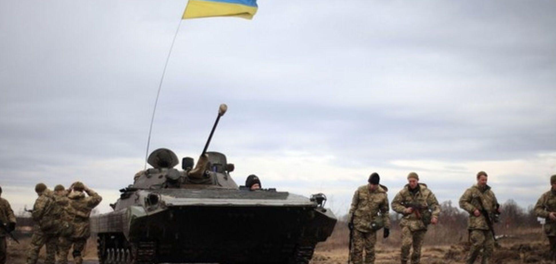 Продвижение на Донбассе