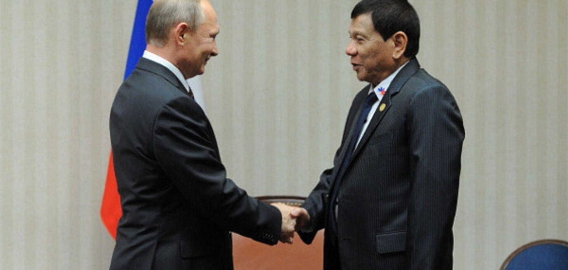 Путин и Дутерте