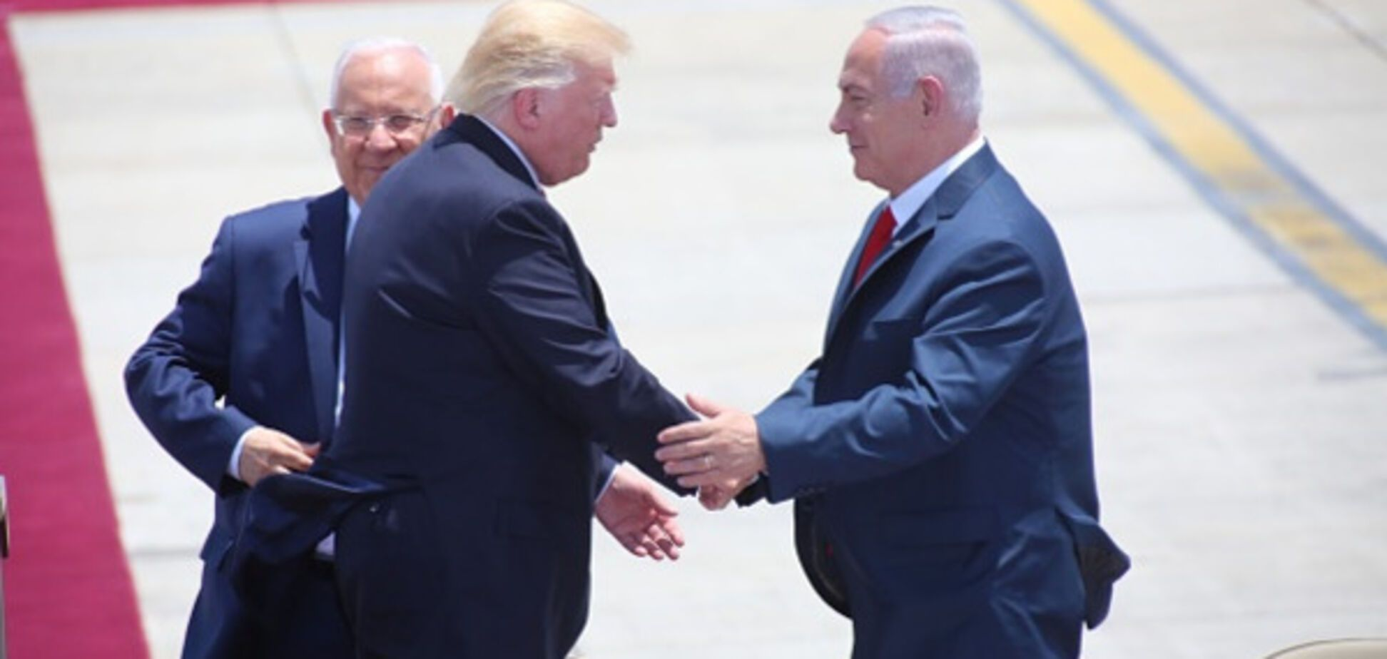 Трамп и Нетаньяху