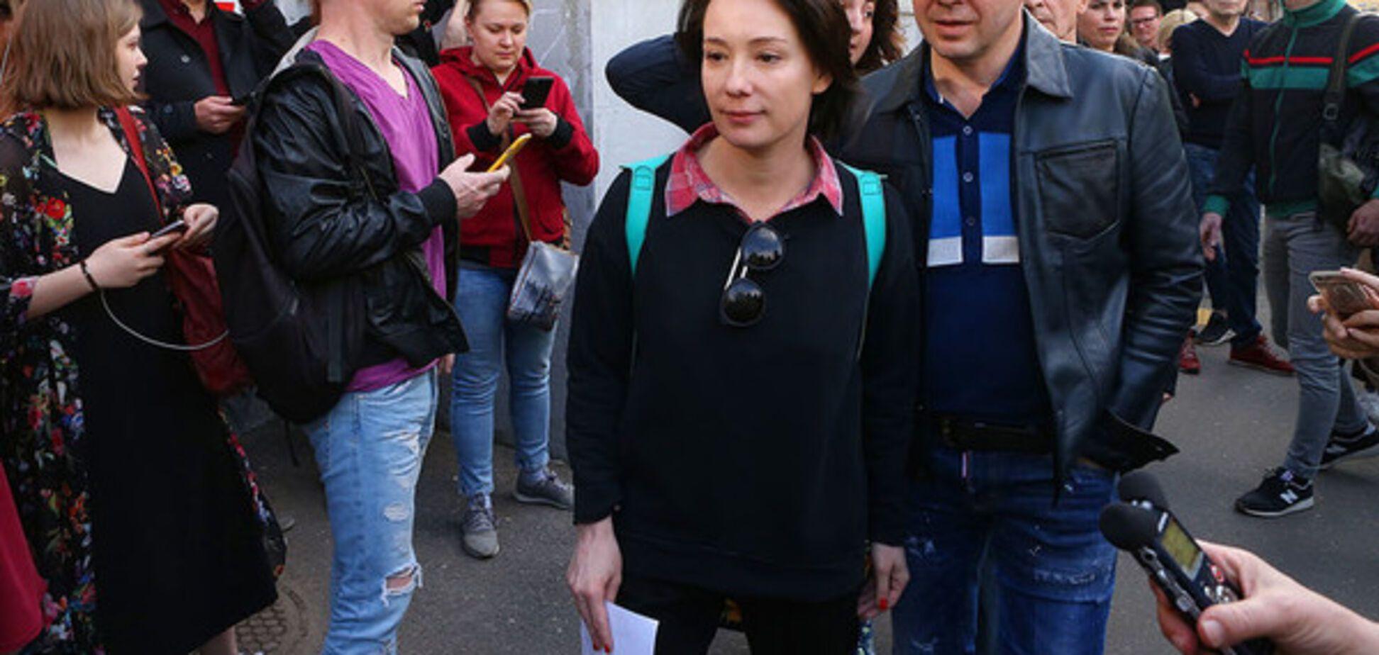 'Хвалила Путіна, тепер скаче': у мережі висміяли російську актрису, яка висловила протест