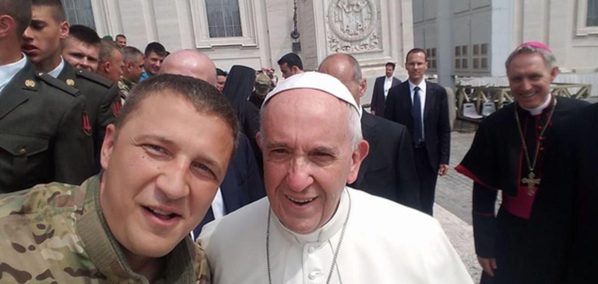 Олександр Швецов, Папа Франциск