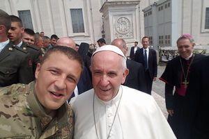 Александр Швецов, Папа Франциск