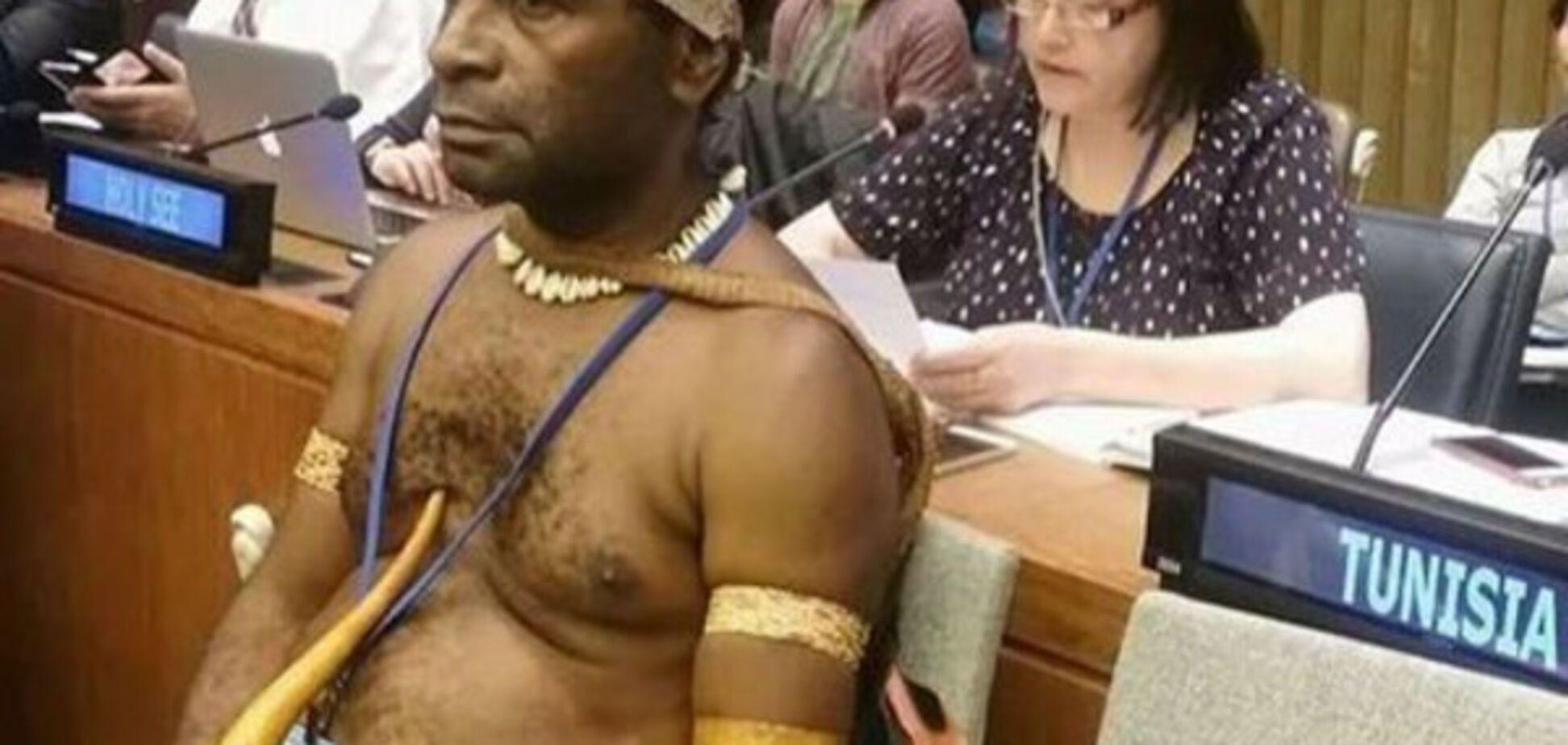 Делегат Папуа - Новій Гвінеї