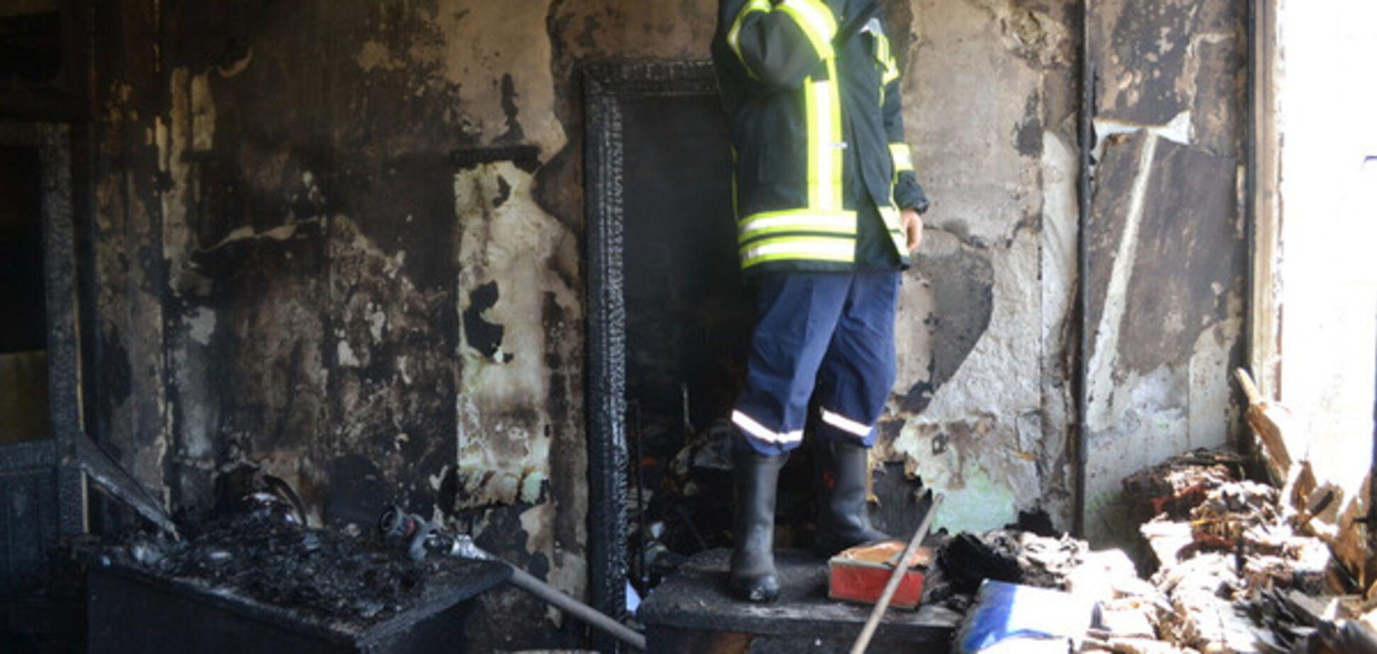 Пожежа в одеській академії