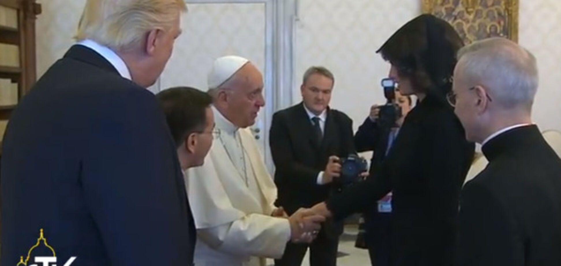 Трамп Франциск Ватикан