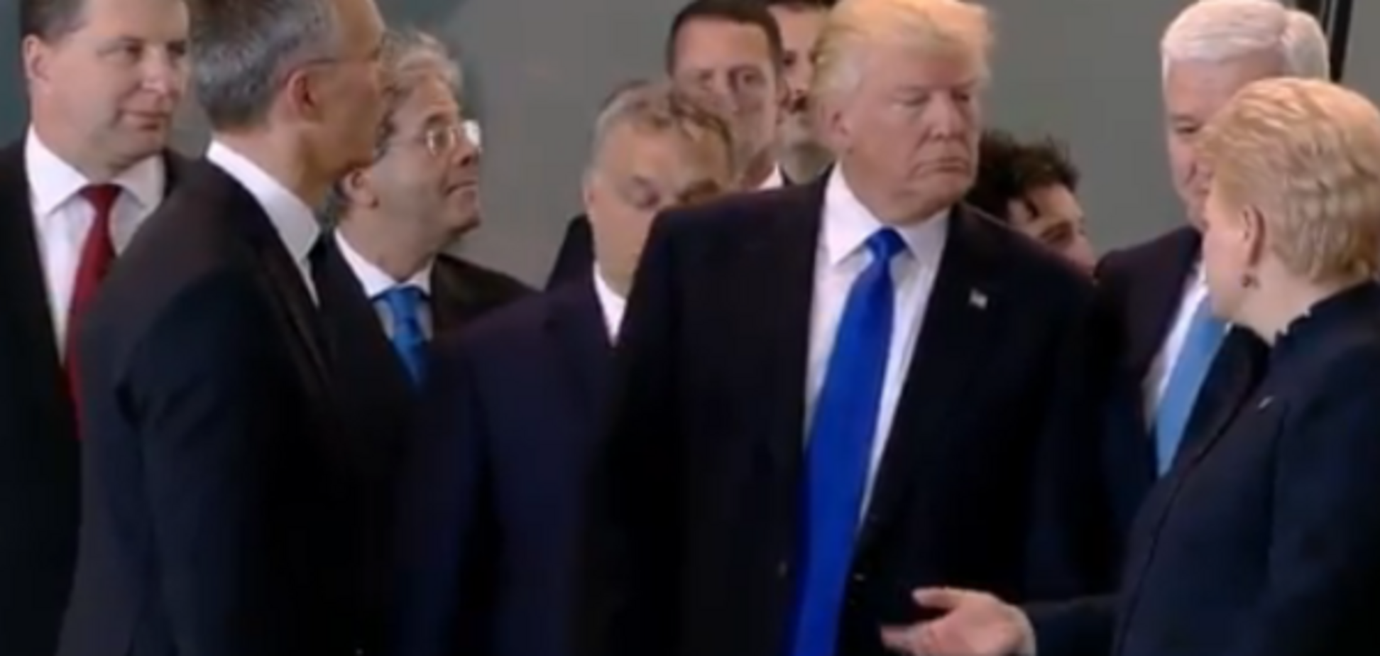 Трамп на саммите НАТО
