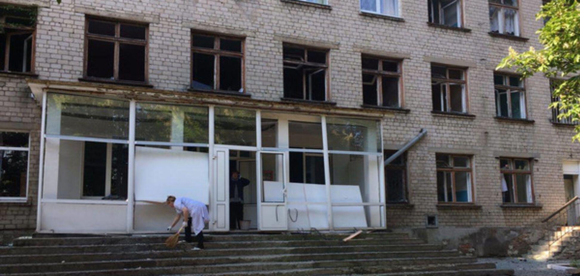 Школа в Красногоровке