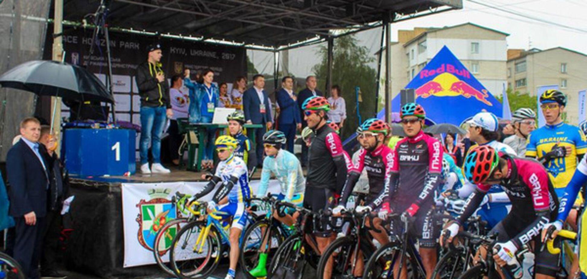 Велогонкой мира в Чабанах открылась серия международных велогонок Race Horizon Park 2017