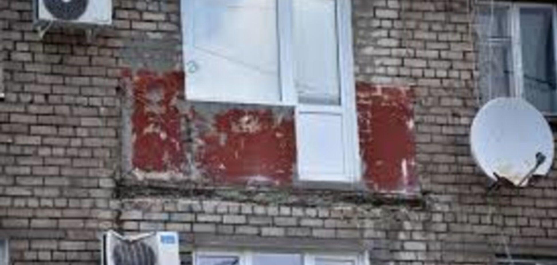В одном из районов города обрушился балкон