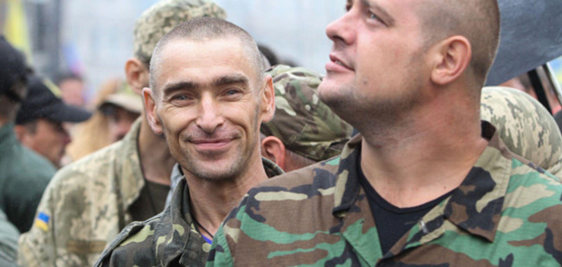 Украинские военные на Донбассе (иллюстрация)