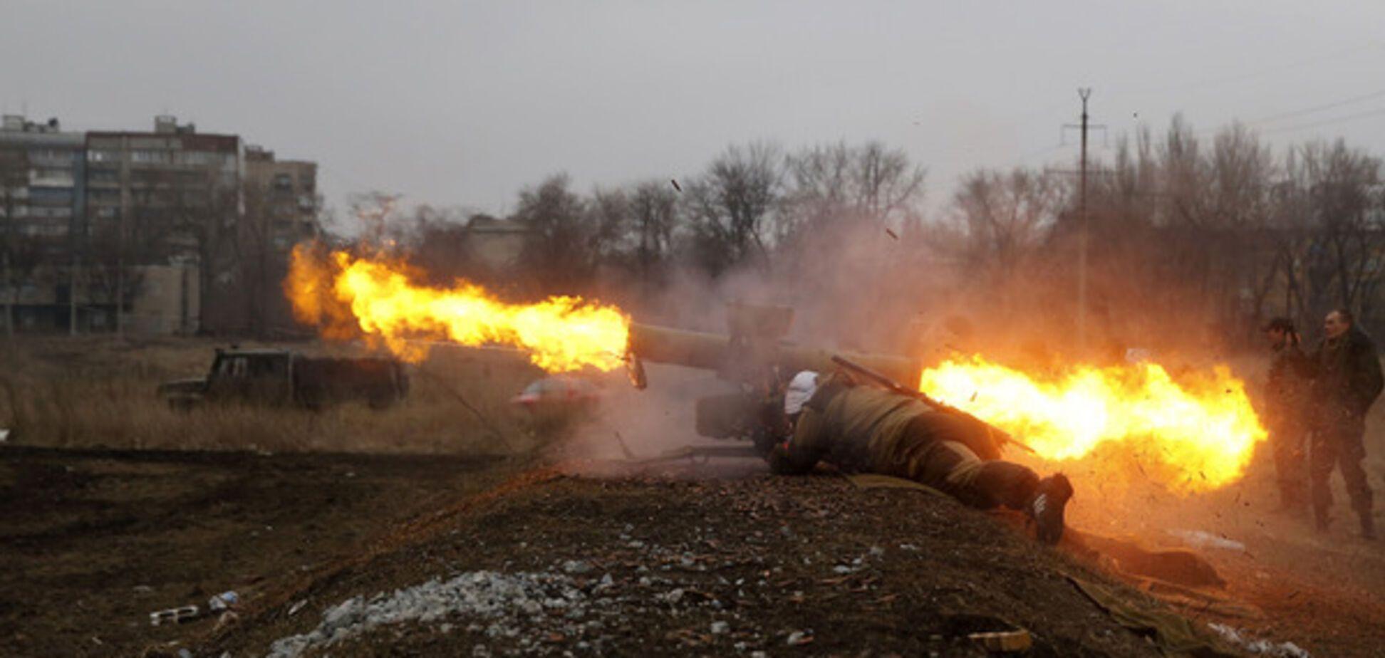 На Донбассе террористы устроили расстрел города