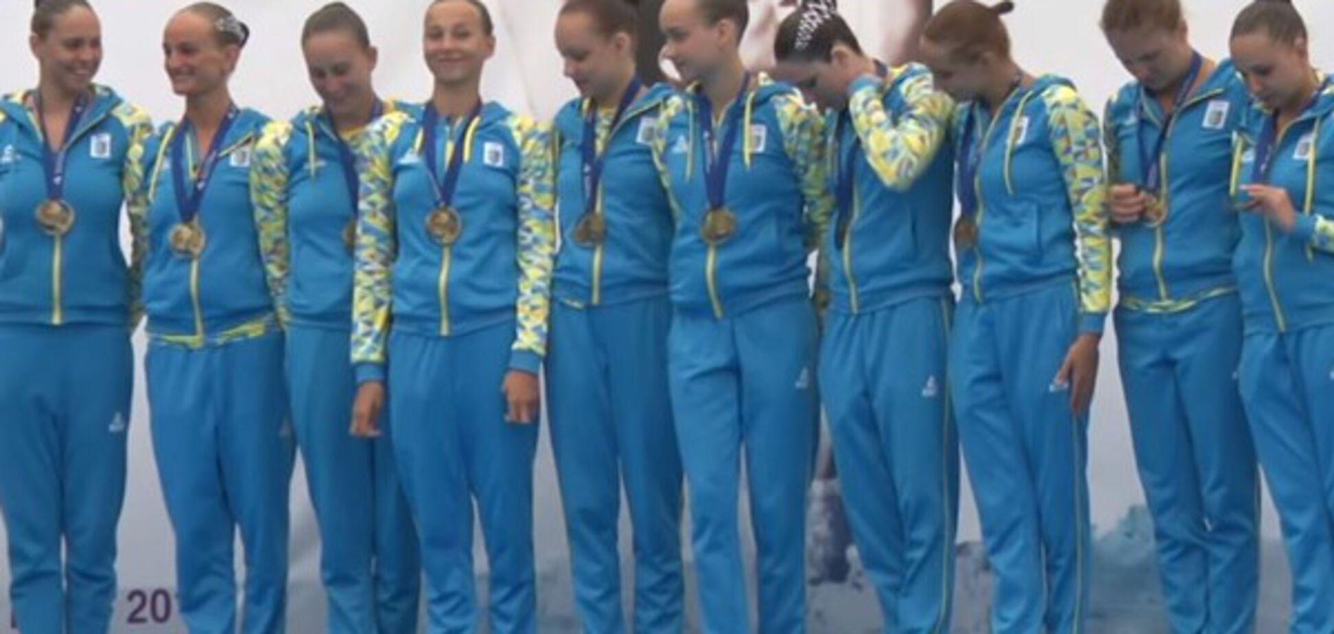 Збірна України із синхронного плавання