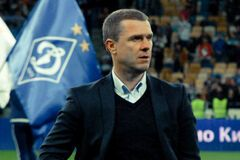 Сергій Ребров Динамо