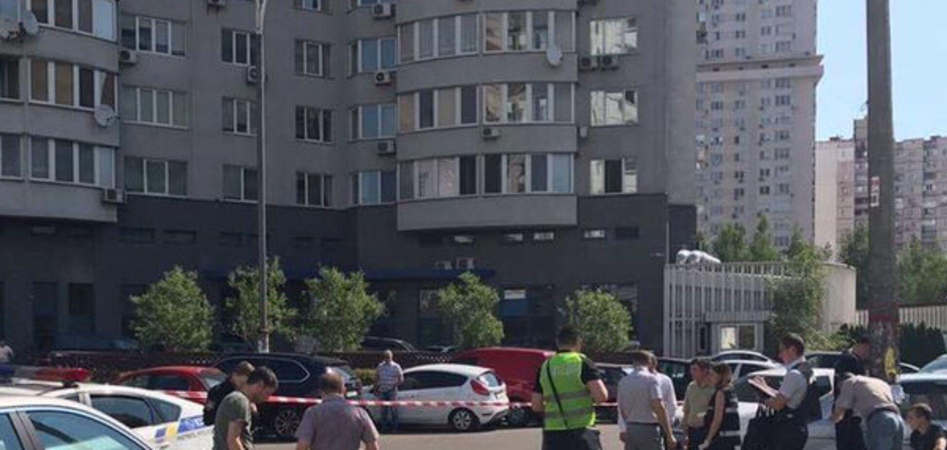 Появилось первое видео с места расстрела экс-главы 'Укрспирта'