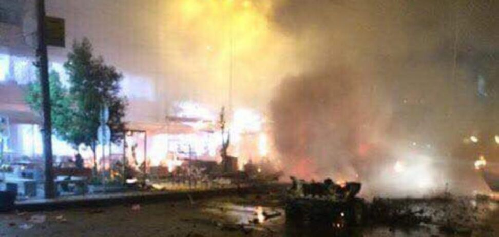 Багдад взрыв