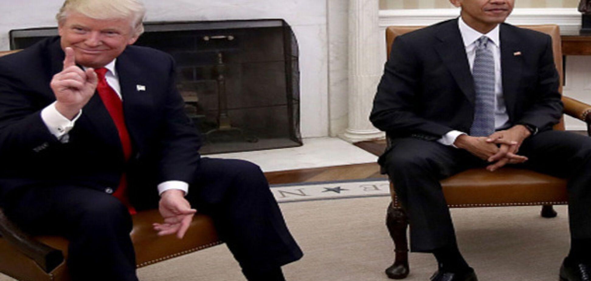 Трамп і Обама