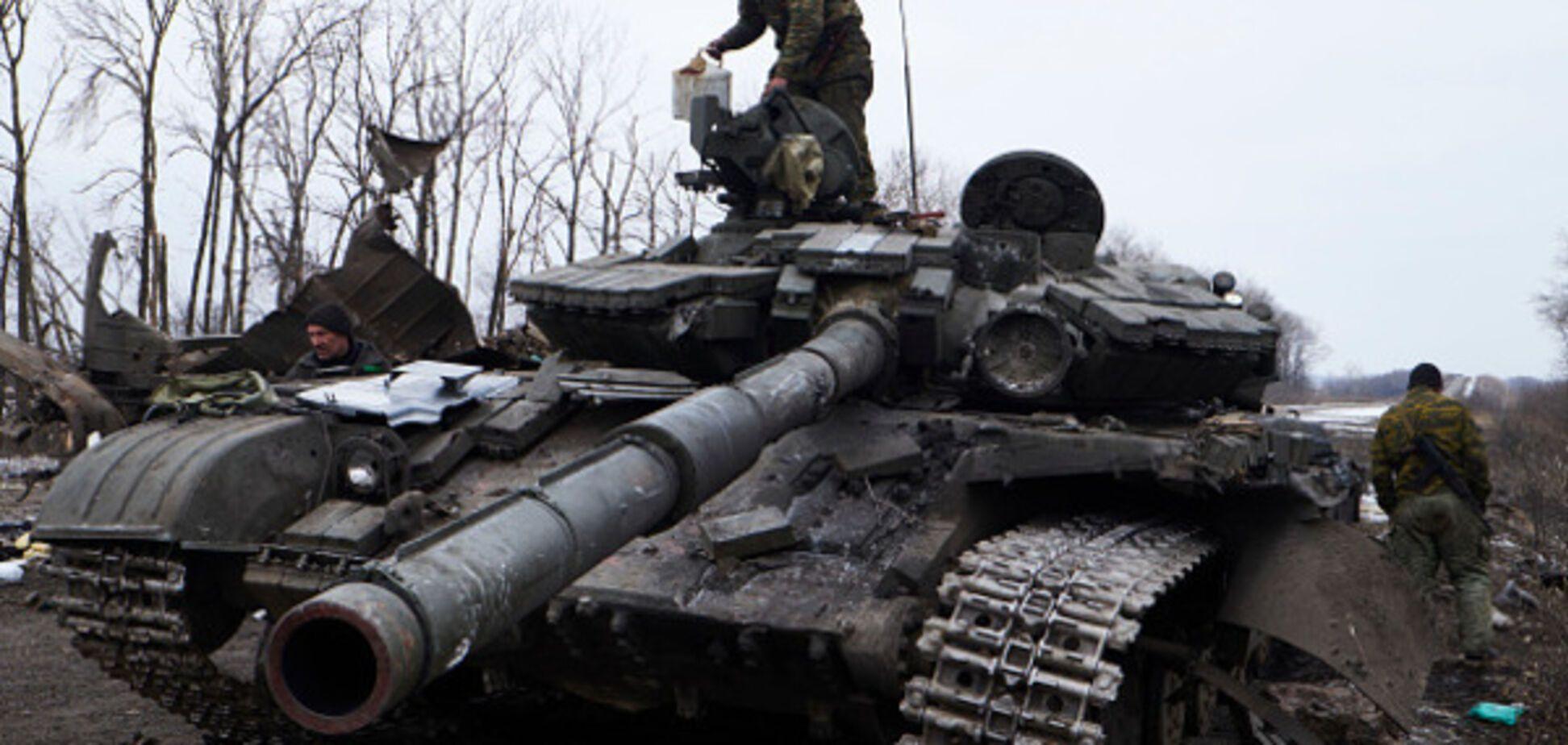 война донбасс танк