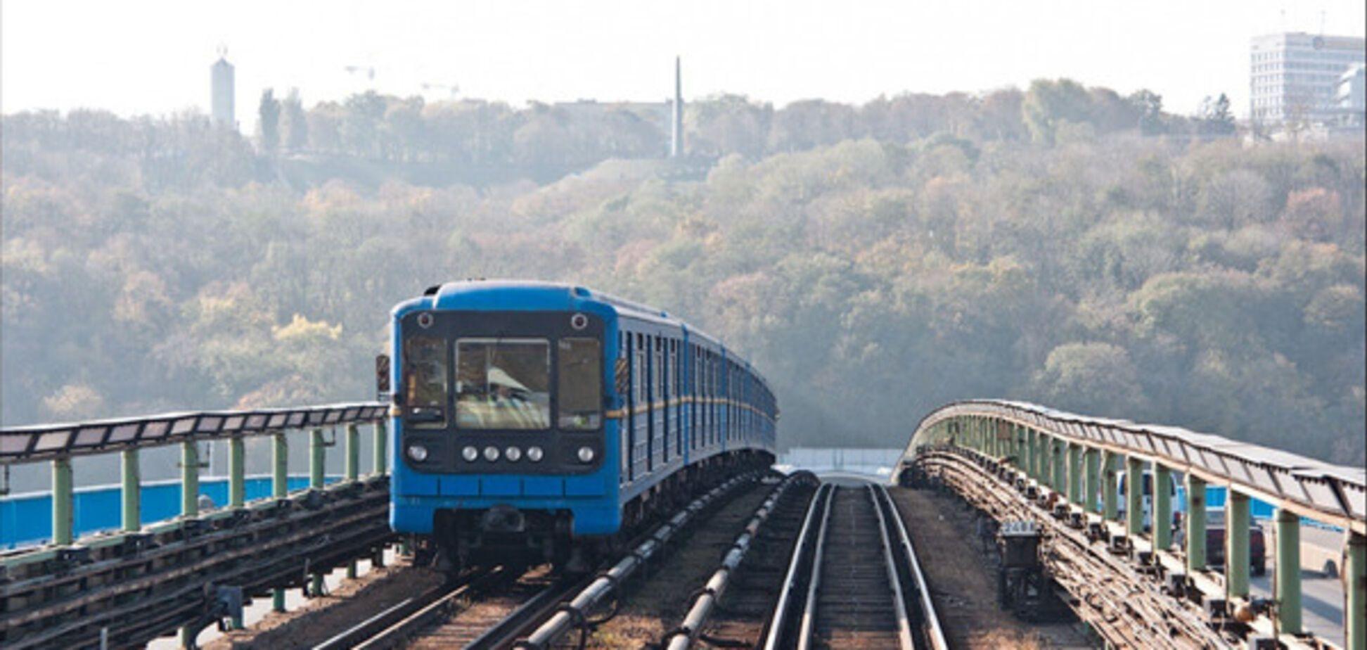 карта метро Київ