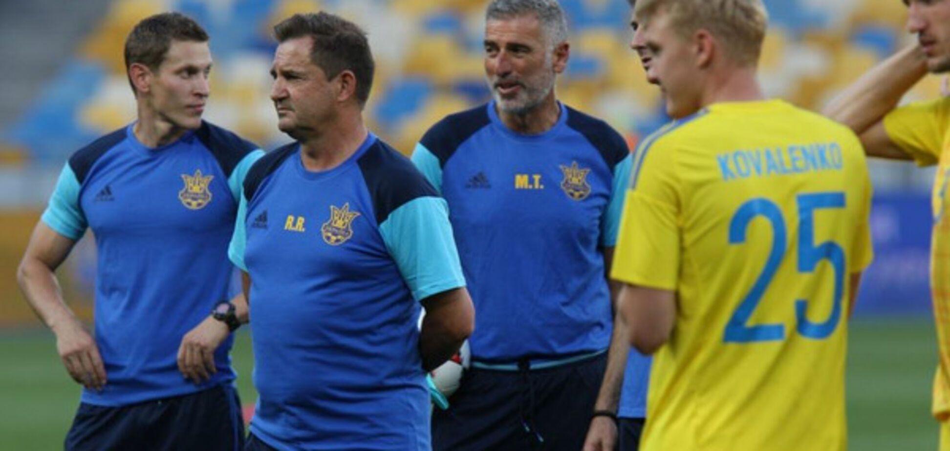 Рауль сборная Украины