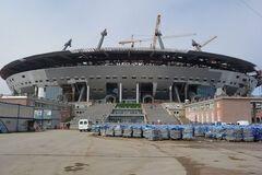 Зеніт Арена будівництво