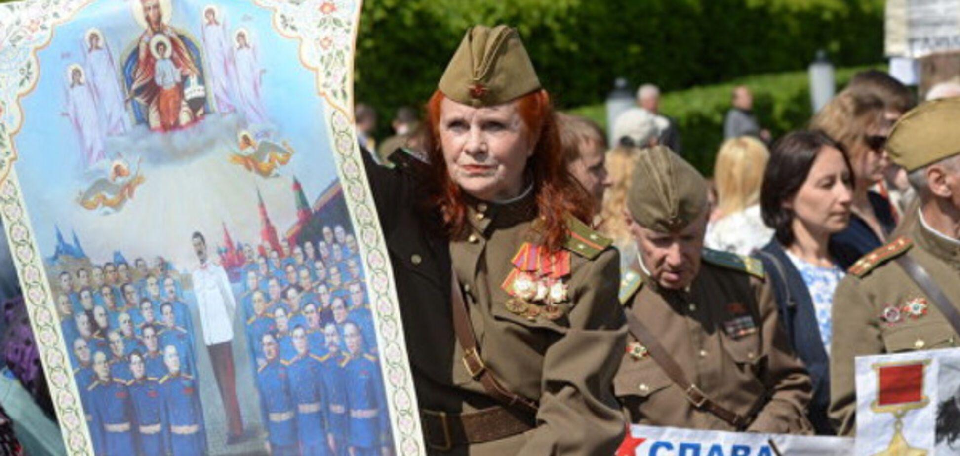 Я бы этот 'Бессмертный полк' в Киеве запретил...