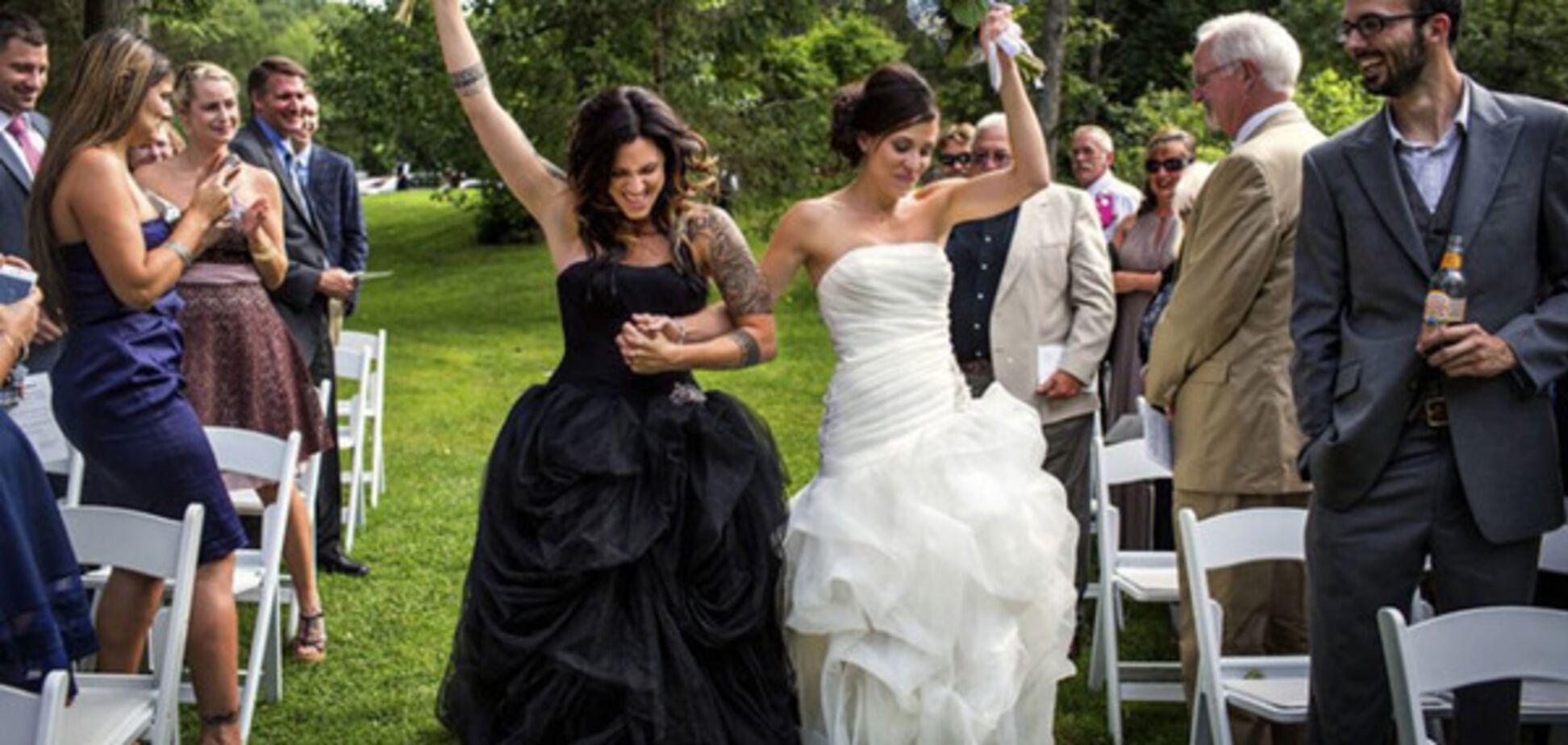 Свадебные церемонии гомосексуальных пар: эмоциональные фото