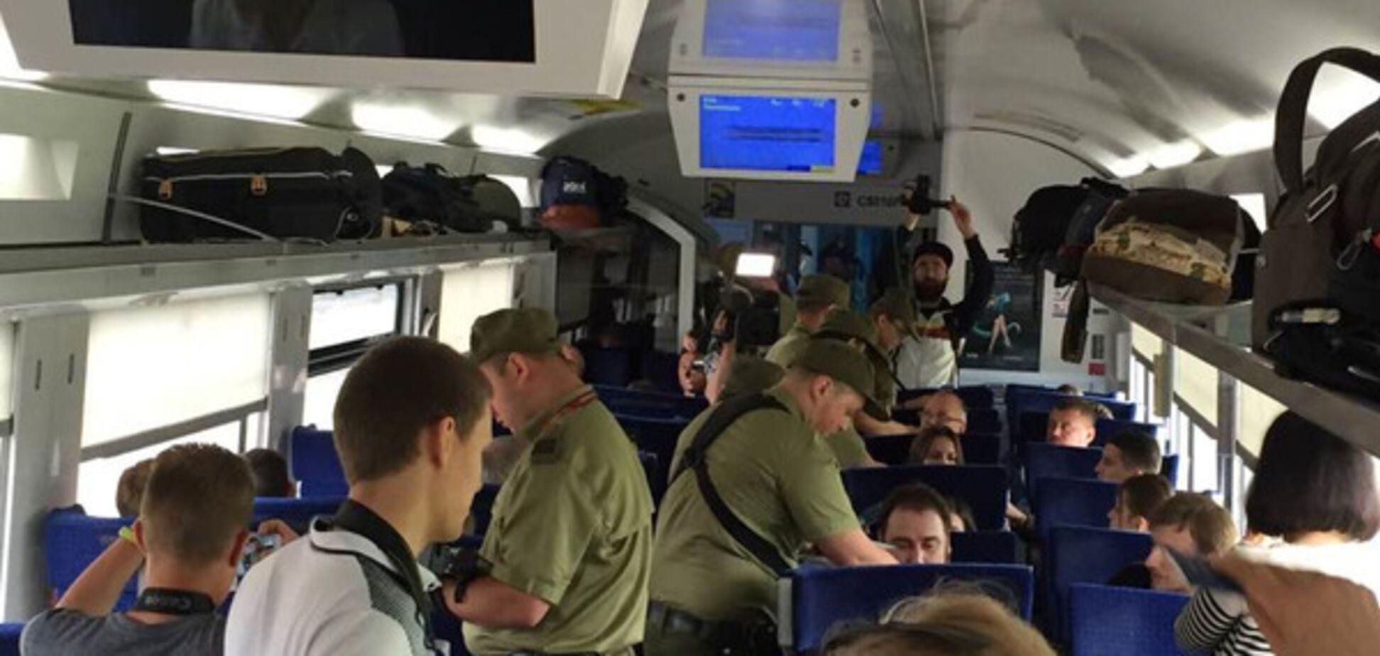 Безвизовый поезд из Украины в Польшу