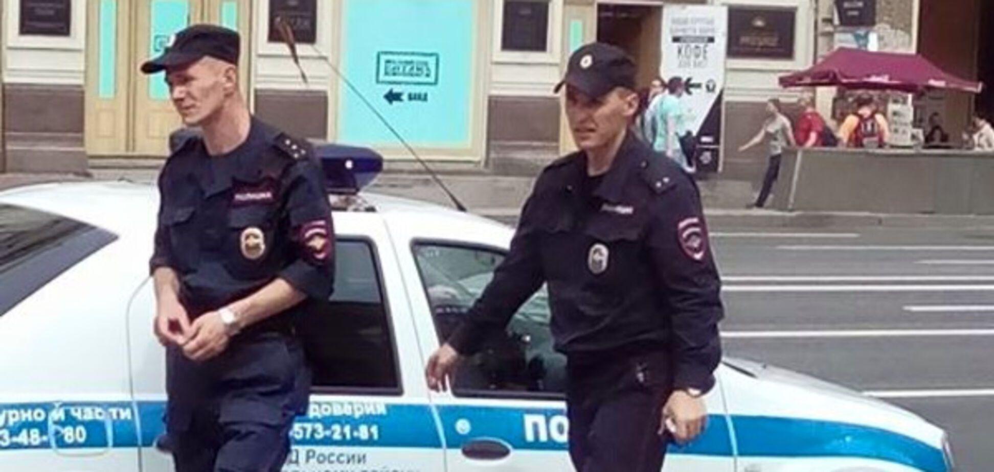 Санкт-Петербург, полиция