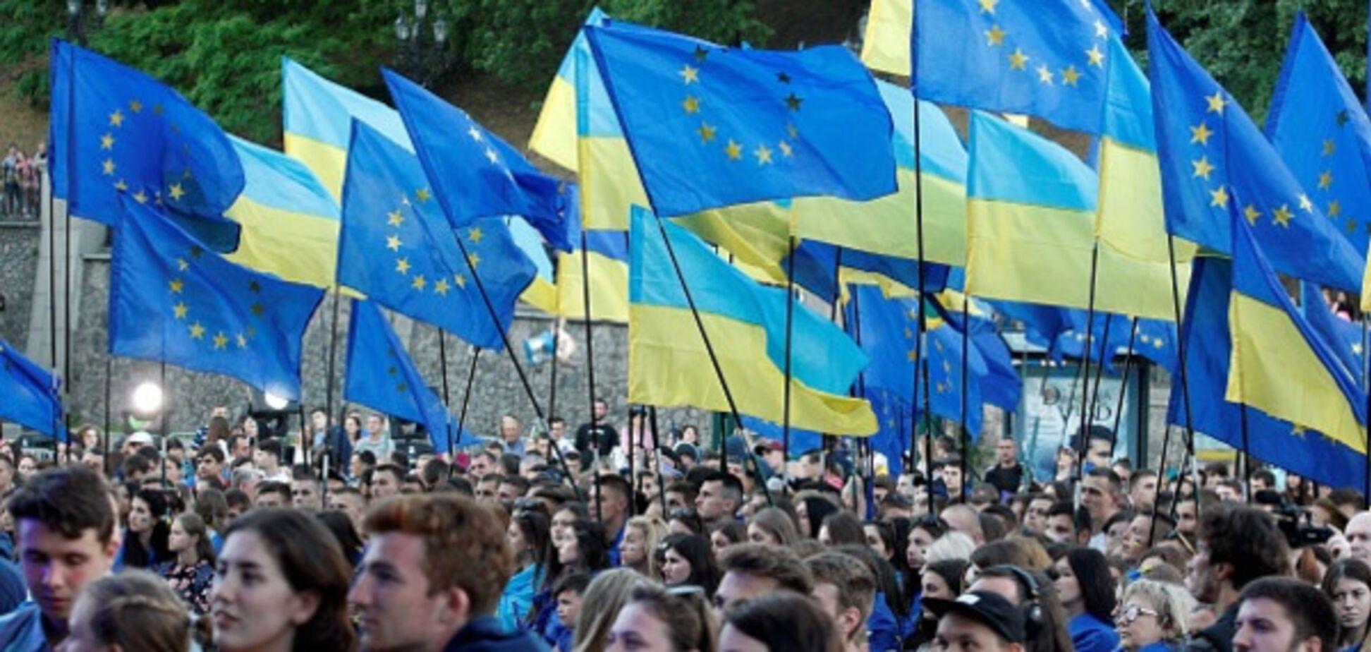 Київ, безвіз, святкування