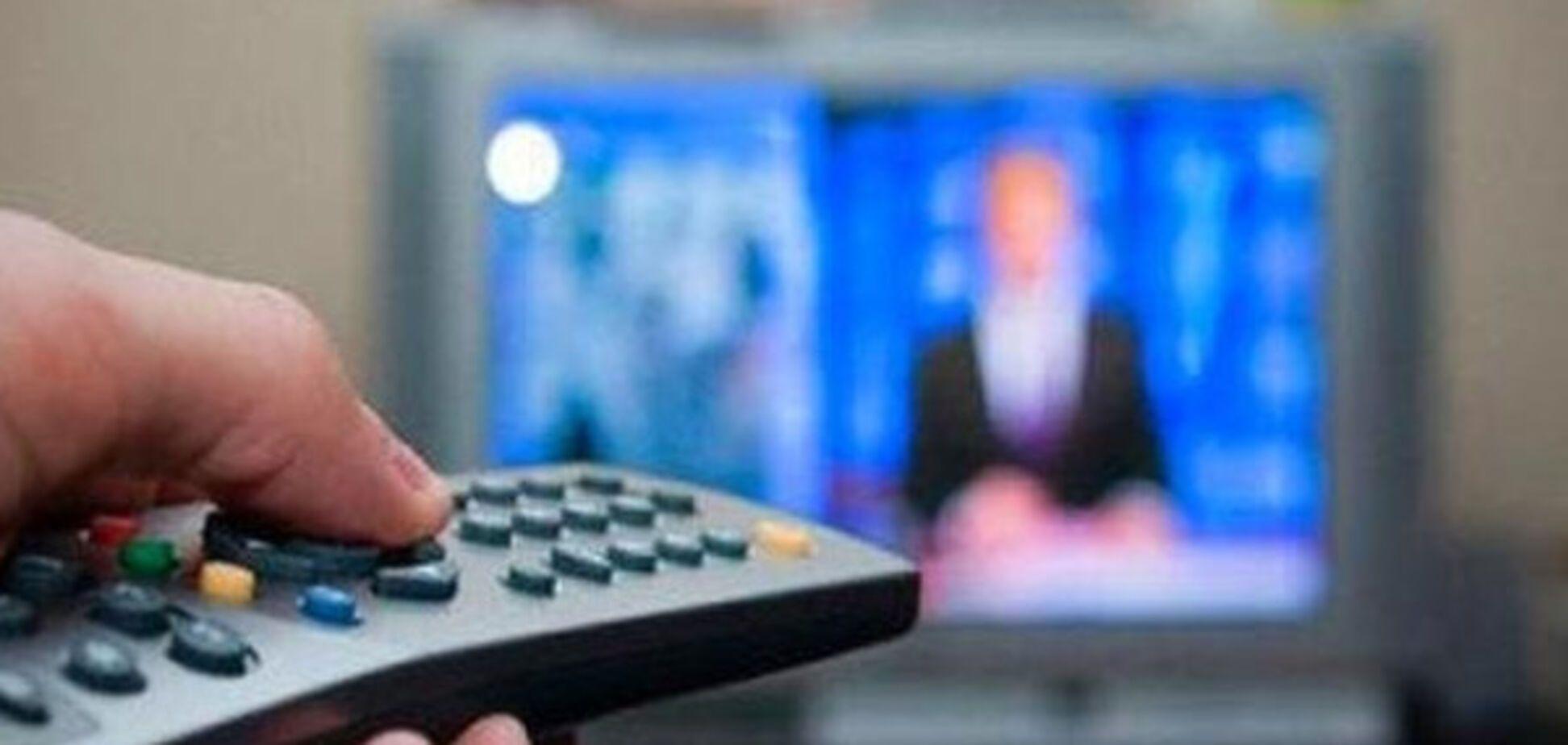 Украинское ТВ в Донецке