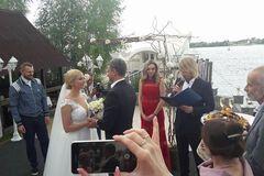 Нарешті: Тоня Матвієнко та Арсен Мірзоян стали чоловіком і дружиною