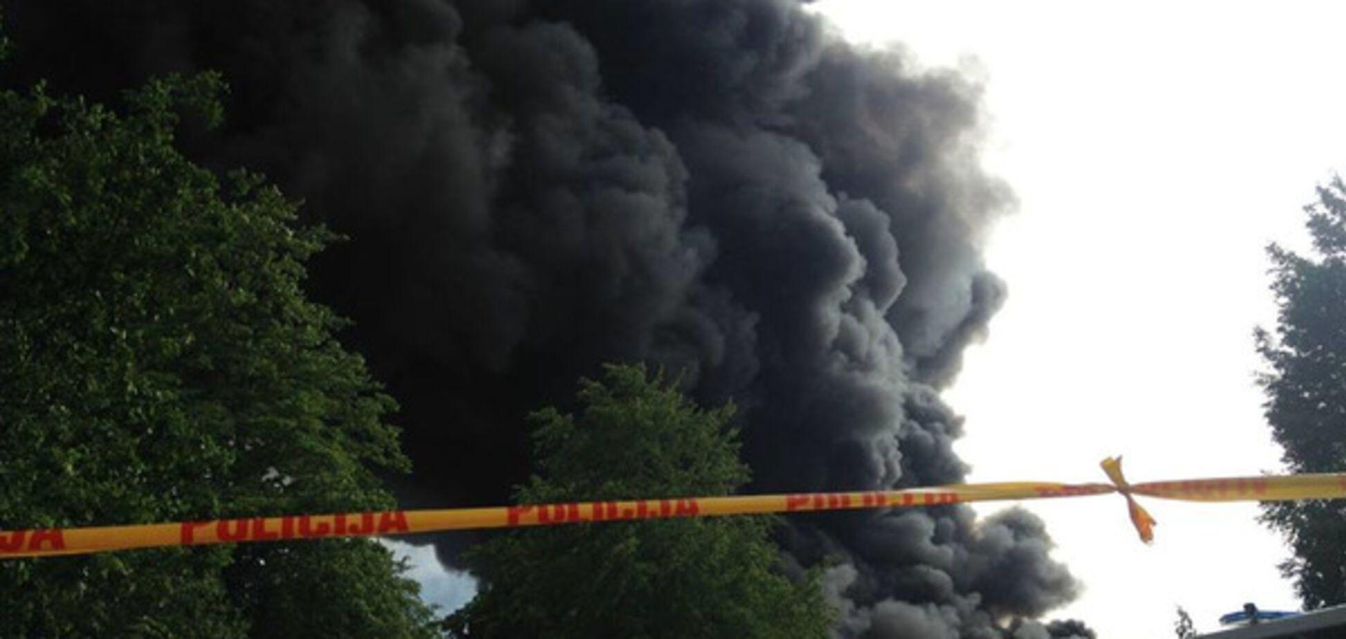Пожежа в Юрмалі