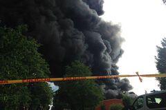 Пожар в Юрмале