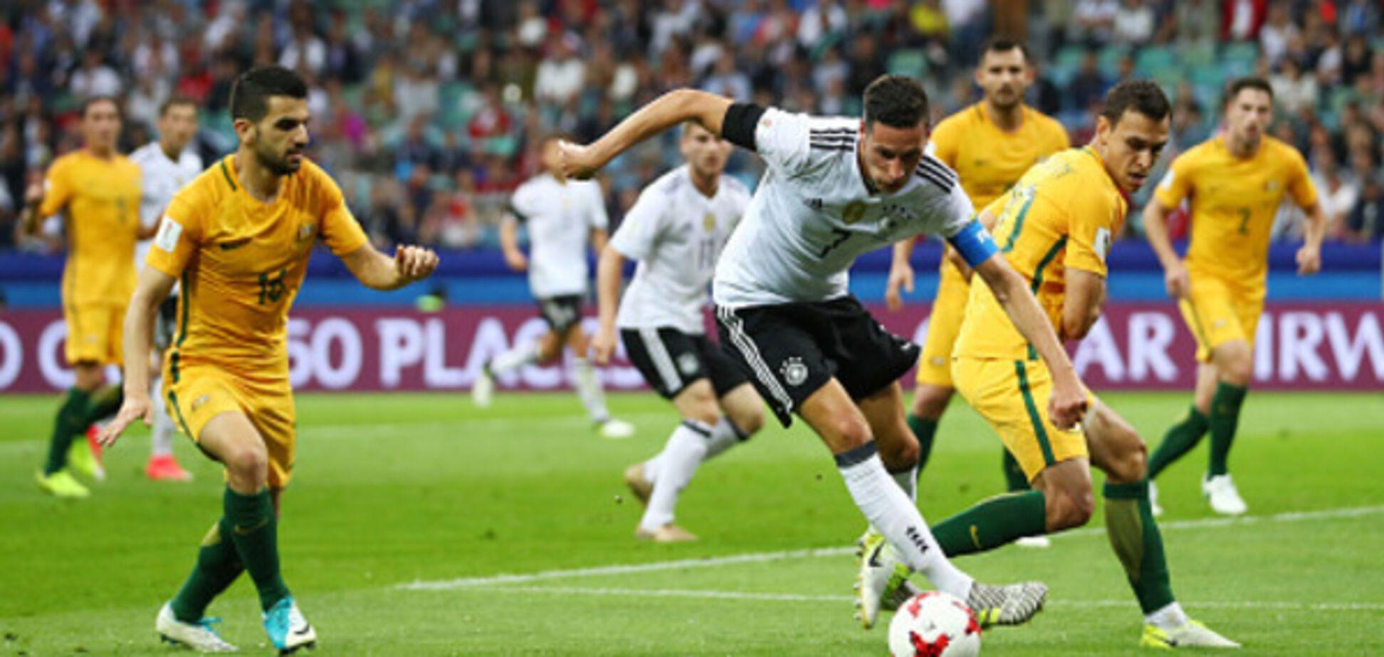 Австралия Германия Кубок Конфедераций