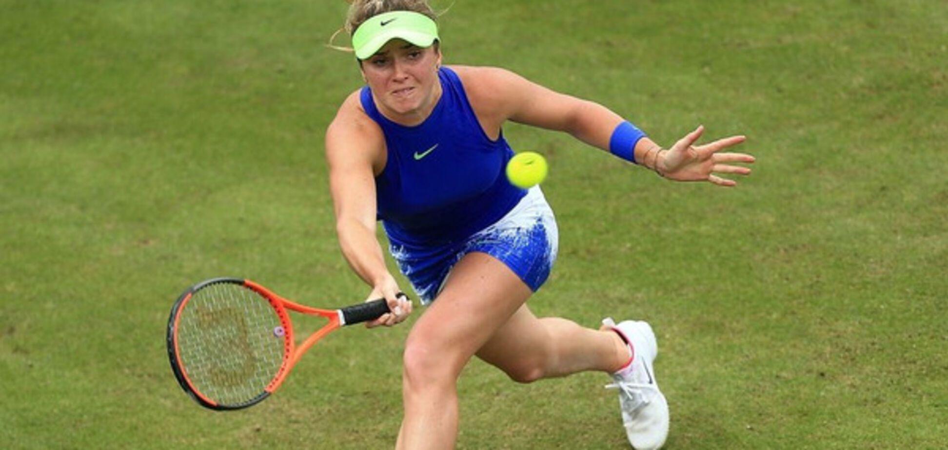 Лучшая теннисистка Украины одержала зрелищную победу на крупном турнире в Англии: опубликовано яркое видео