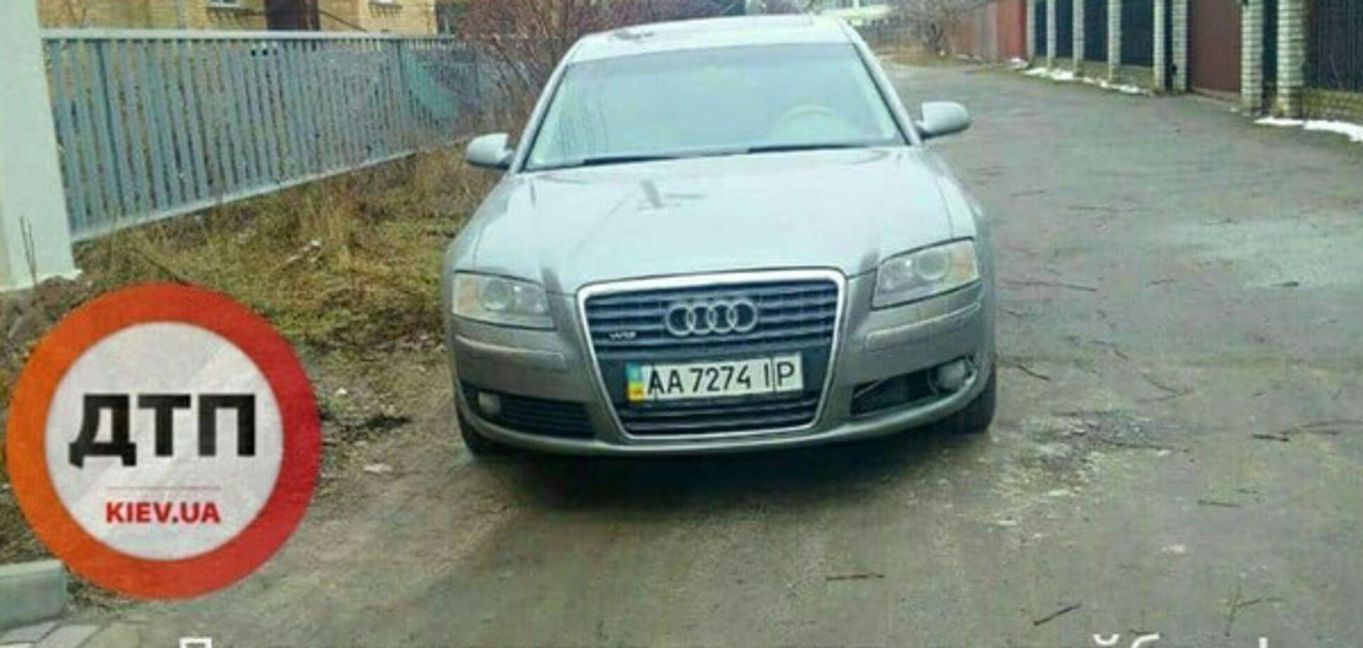 Дерзкий автоугон в Киеве: в сети показали фото преступника
