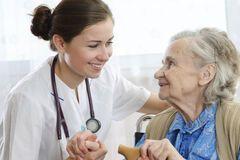 Поликлиника, старики, успей запастись счастьем!
