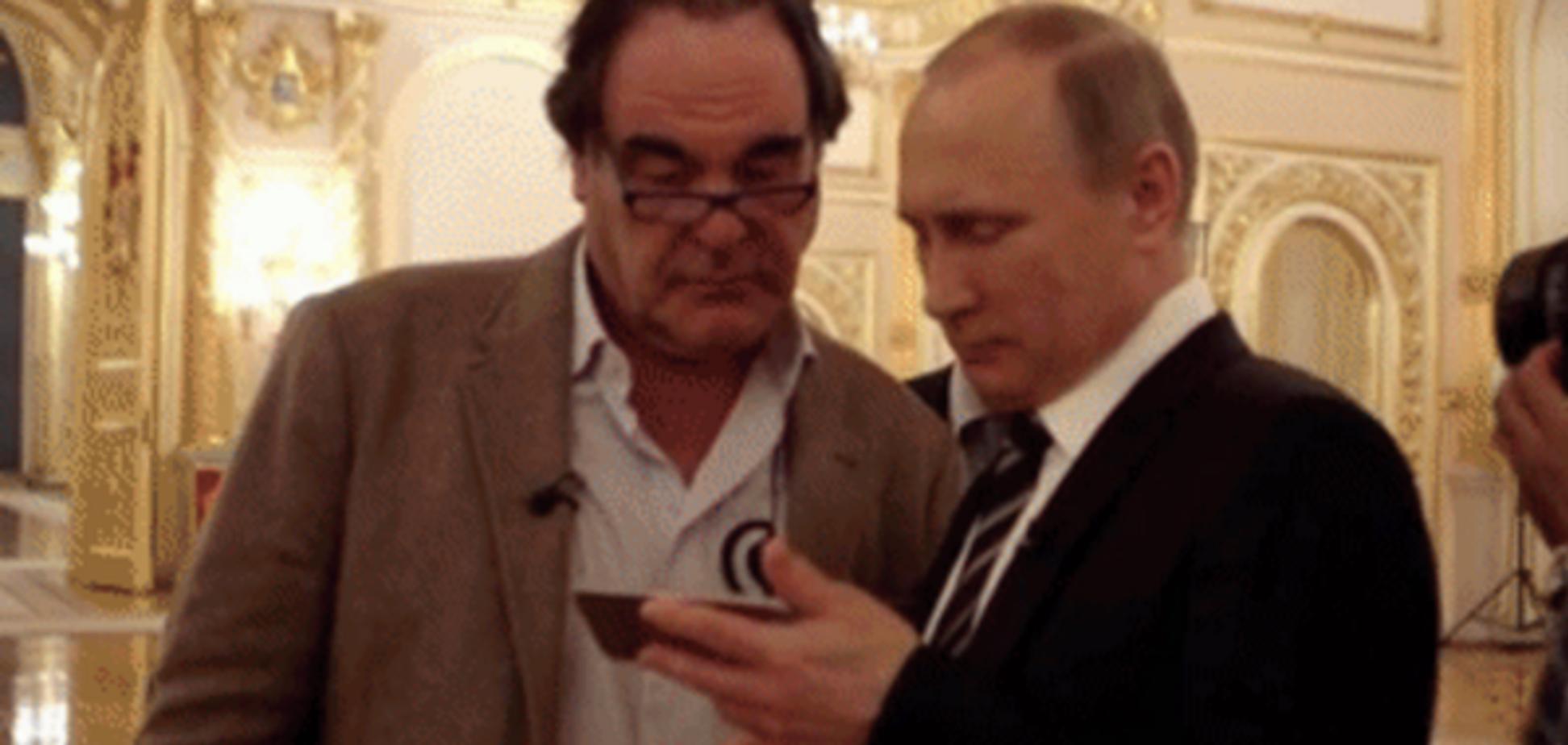 Олівер Стоун і Володимир Путін