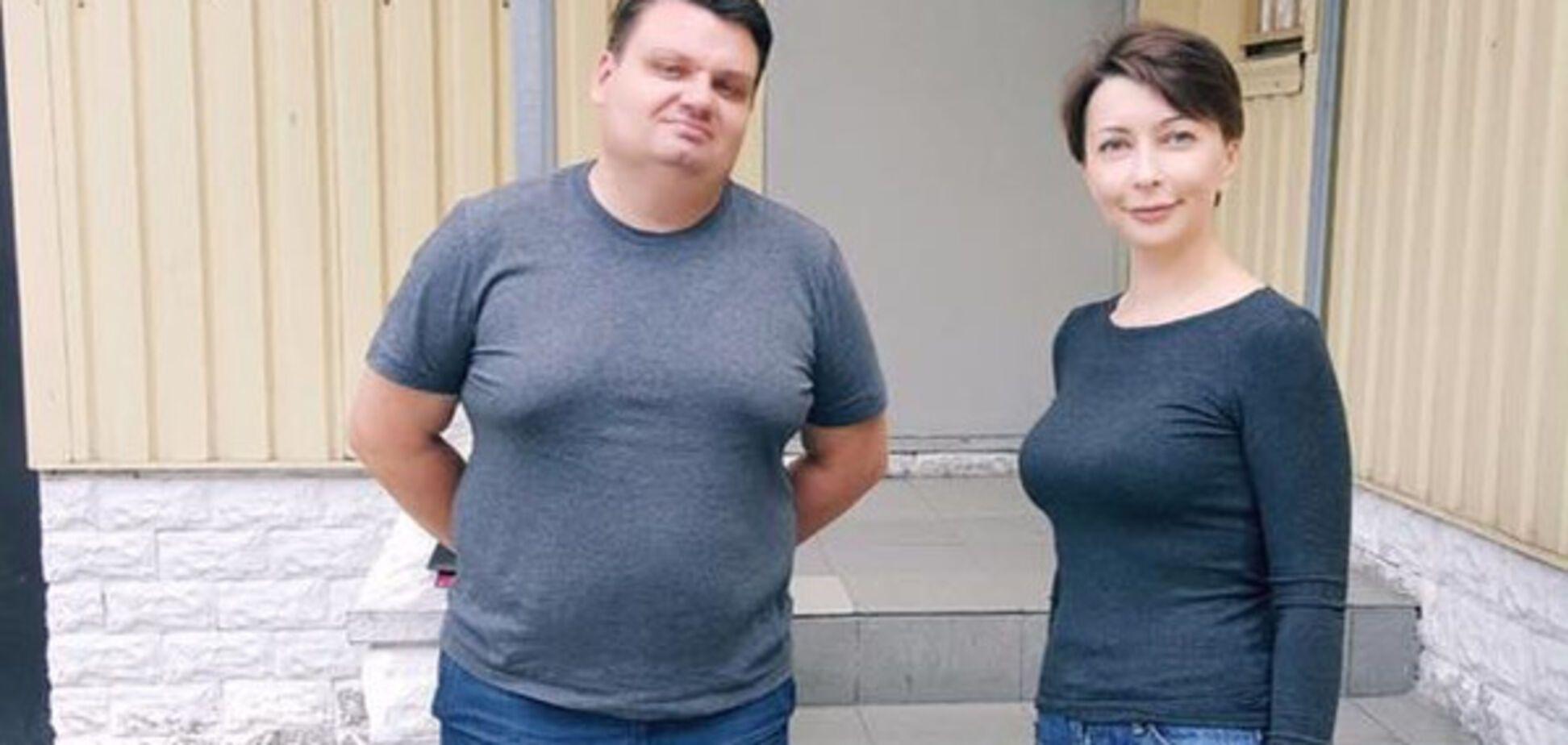 Игорь Гужва и Елена Лукаш