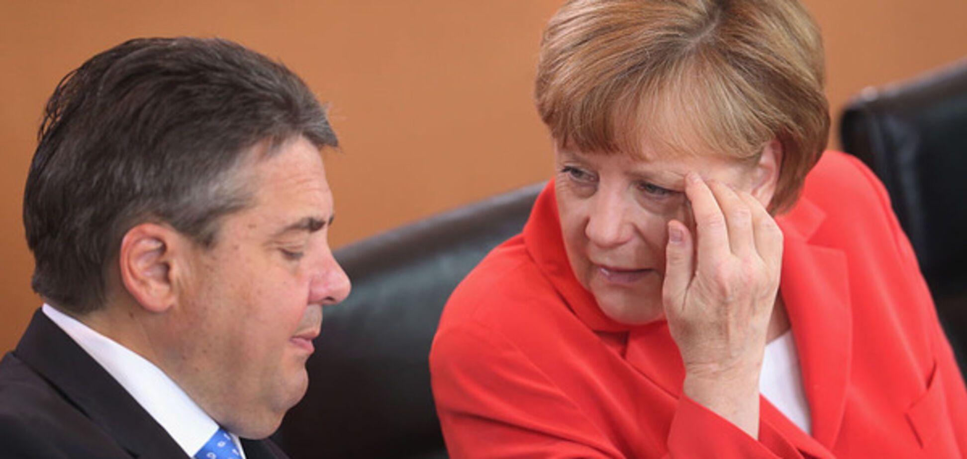 Габриэль и Меркель