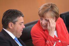Габріель і Меркель