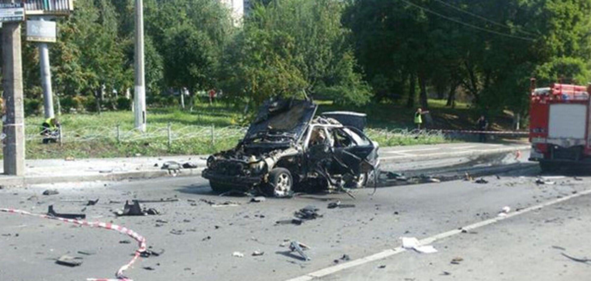 Подрыв авто в Киеве