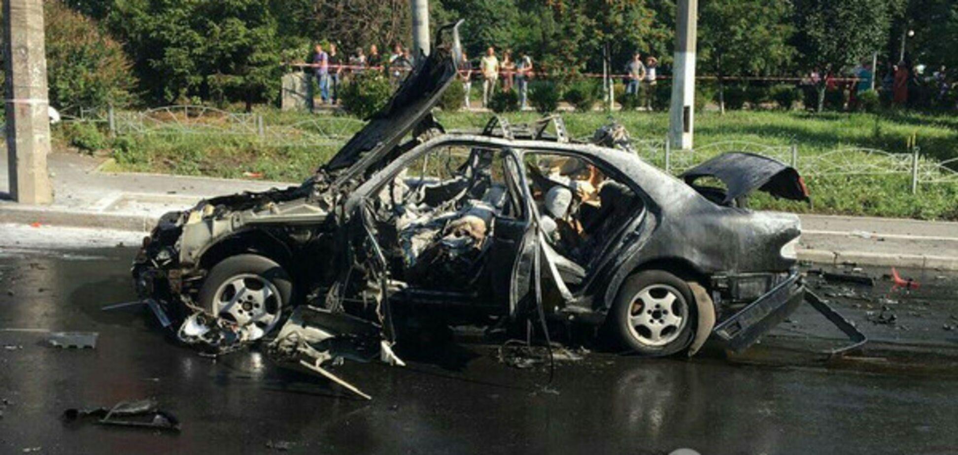 взрыв авто киев