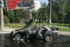 Взрыв ГУРовца в Киеве