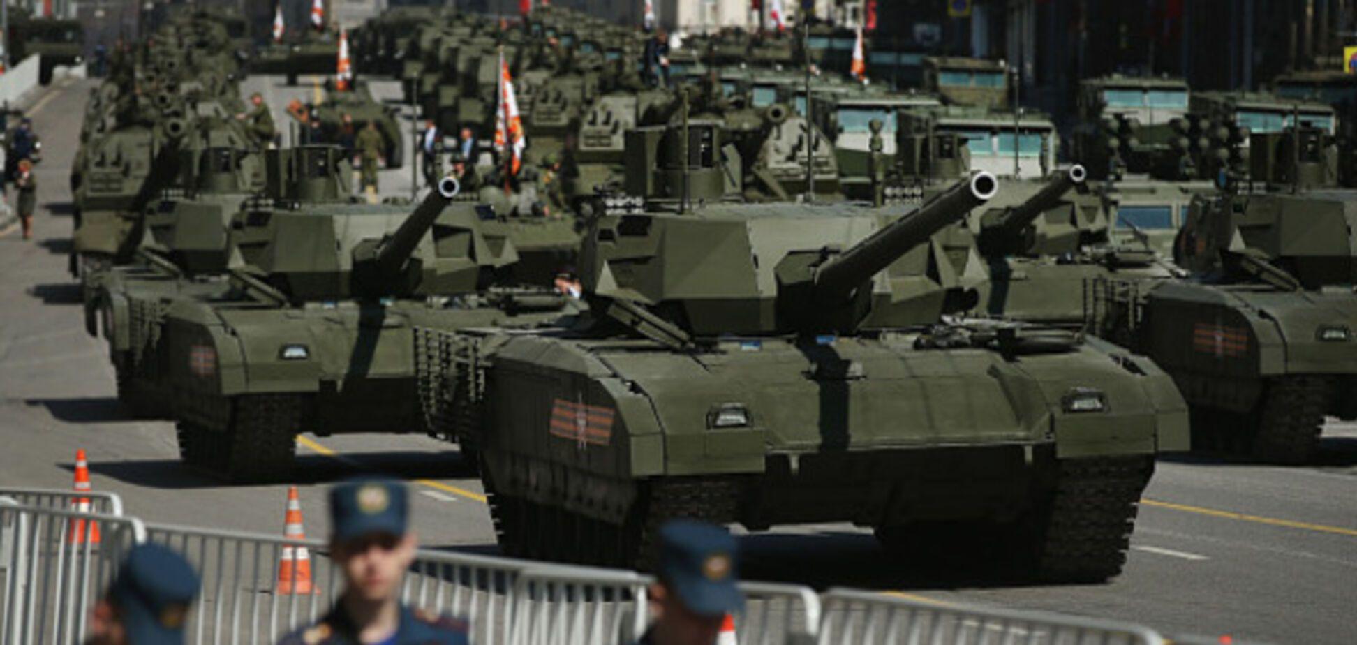 Москва, день победы, 70-летие