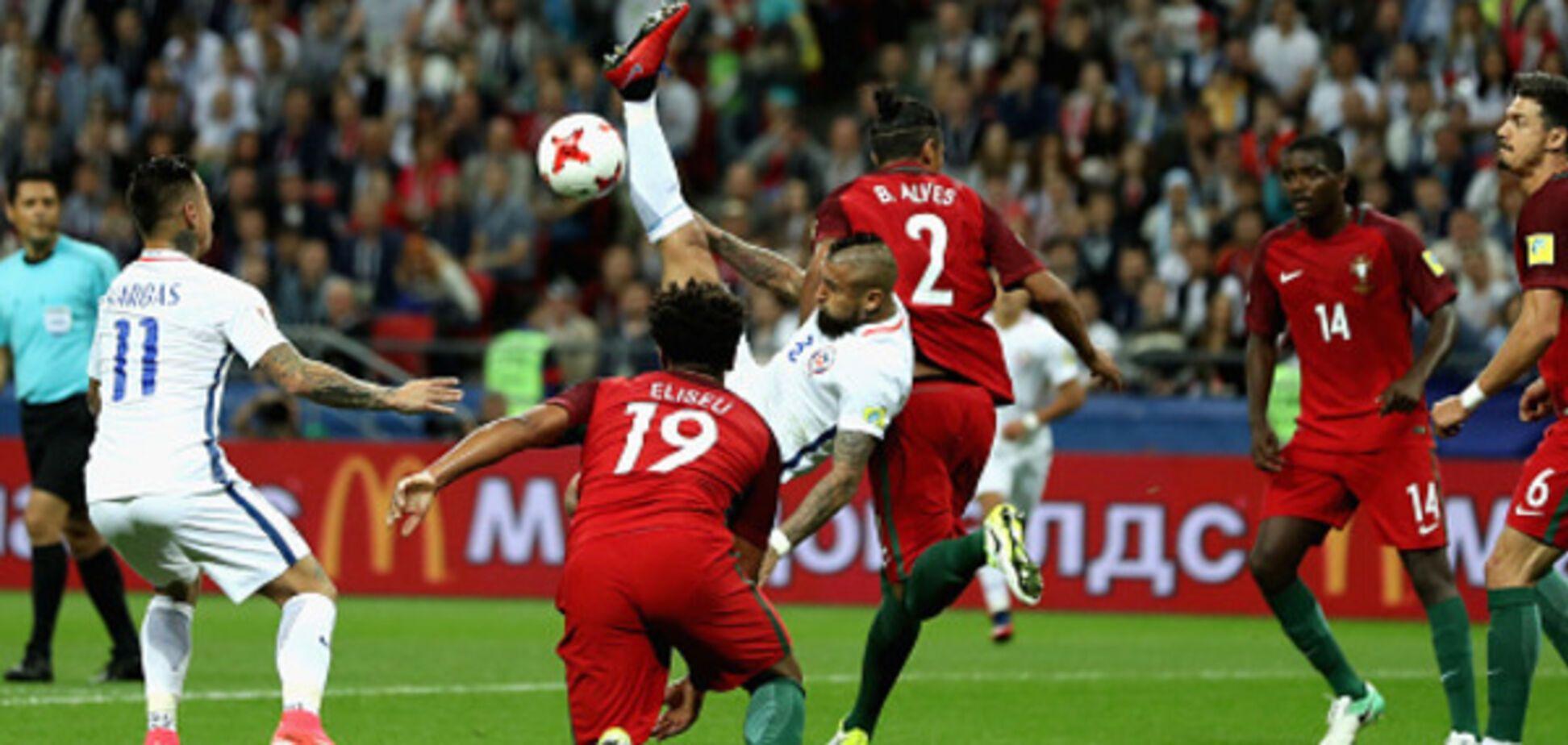 Португалия Чили Кубок Конфедераций